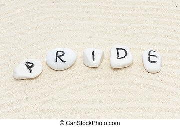 büszkeség, szó