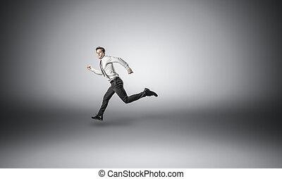 běh, člověk obchodního ducha