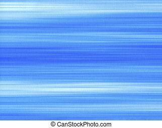 błękitna farba, uderzenia, kwestia, tło., papier, szczotka