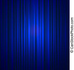 błękitna firanka, jedwab, tło