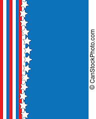 błękitna gwiazda, str, wektor, eps8, biały czerwony