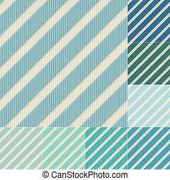 błękitna zieleń, seamless, pasy