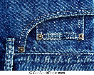 błękitne dżinsy