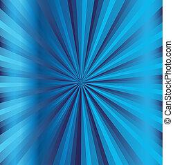 błękitne tło, promień
