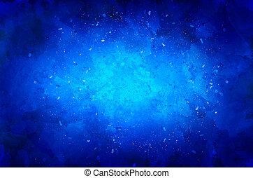 błękitne tło