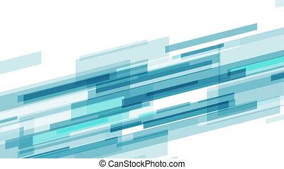 błękitny, abstrakcyjny, ożywienie, tech, video, futurystyczny
