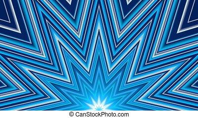 błękitny, abstrakcyjny, tło, pętla