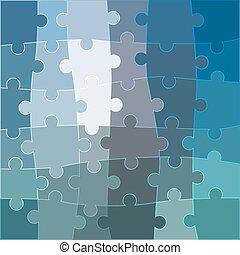 błękitny, abstrakcyjny, wektor, tło, ont