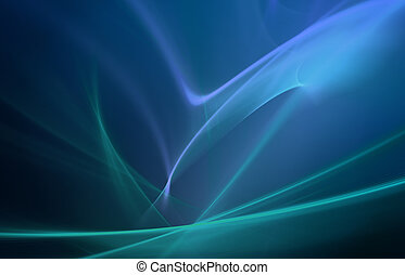 błękitny, abstrakcyjny