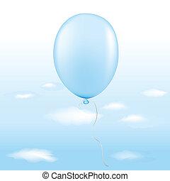 błękitny balon