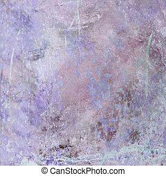 błękitny, grunge, abstrakcyjny, tło, świt, kiepski