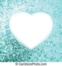 błękitny, heart., ułożyć, eps, formułować, 8