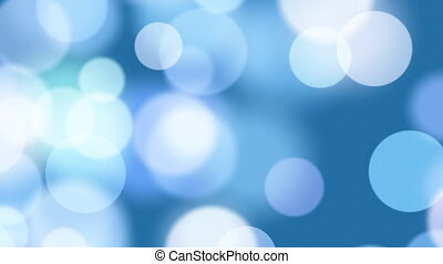 błękitny, koła, seamless, pętla, zamazany