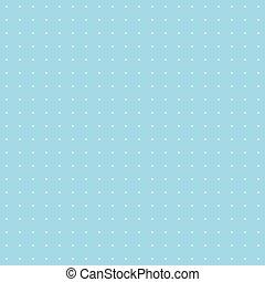 błękitny, kropka polki, tło modelują