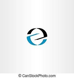 błękitny, logotype, wektor, czarnoskóry, litera, logo, z, ikona