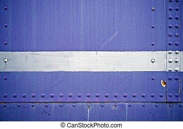 błękitny, metal, tło