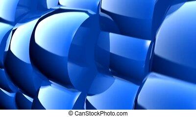 błękitny, obiekty