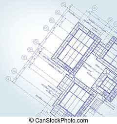 błękitny odcisk, architekt