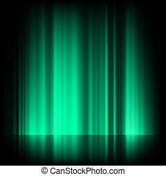 błękitny, północny, jutrzenka, eps, światła, zielony, 8, borealis.
