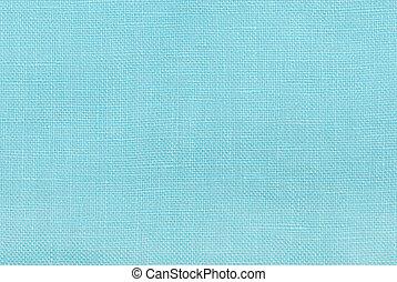 błękitny, płótno, struktura, tło