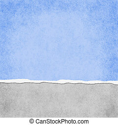 błękitny plac, grunge, lekki, porwany, tło, textured