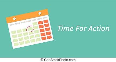 błękitny, pojęcie, tło, czas, czyn, kalendarz