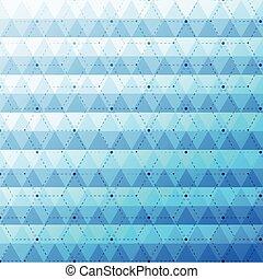 błękitny, próbka, abstrakcyjny, seamless, jasny, tło, triangle