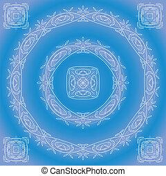błękitny, próbka, abstrakcyjny, ułożyć