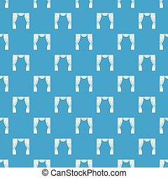 błękitny, próbka, rusztowanie, seamless, kurtyna