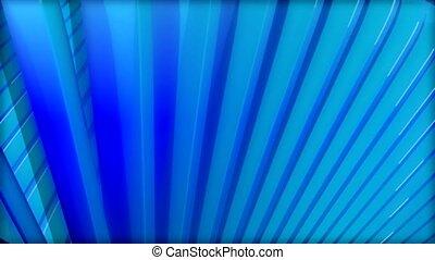 błękitny, promienie