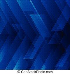 błękitny, przestrzeń, cielna, abstrakcyjny, strzały, pasy, znak, tech, tło, cyfrowy, text., concept., technologia, twój