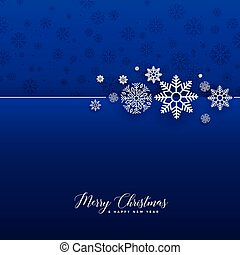 błękitny, straszliwy, płatki śniegu, tło, boże narodzenie