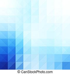 błękitny, tło., geometryczny, abstrakcyjny