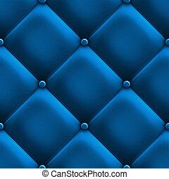 błękitny, tapicerka