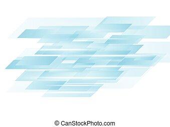 błękitny, technologia, abstrakcyjny, wektor, projektować