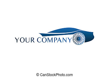 błękitny wóz, logo