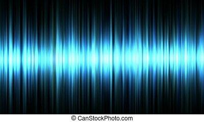 błękitny, waveform