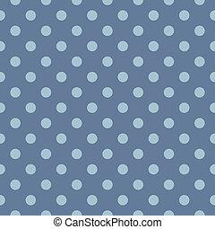błękitny, wielokropek polki, wektor, tło