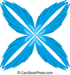błękitny, wings.