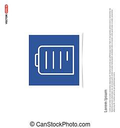 błękitny, zdejmować budowę, -, nuta, ołówek, ikona