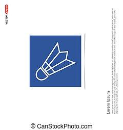błękitny, zdejmować budowę, -, wolant, ikona
