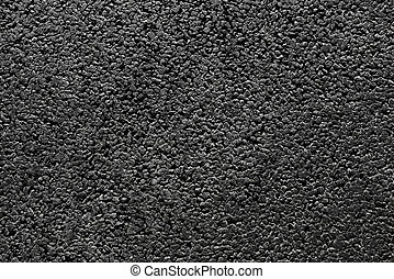 błyszczący, nowy, czarnoskóry, asfalt, abstrakcyjny,...