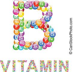 b, ビタミン