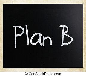 "b"", 黒板, ""plan, チョーク, 白, 手書き"