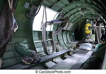 B 17 Bomber guns