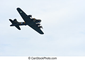 B-17 Flying Fortress World War Two bomber