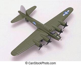 B-17 Flying Fortress WW II bomber diecast model