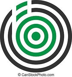 b, abstrakt, illustration, vektor, design, mygga, brev, logo, ikon
