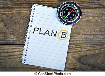 b, bois, texte, plan, compas, table