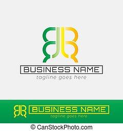 b, double, gabarit, logo